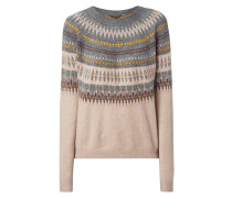 Pullover mit Allover-Muster