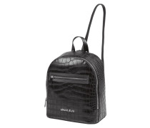 Rucksack in Kroko-Optik