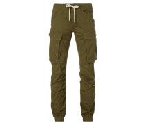 Slim Fit Jogpants mit Cargotaschen
