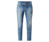Leisure Fit Jeans im Used Look