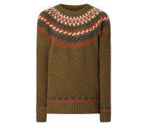 Pullover mit Ethno-Muster
