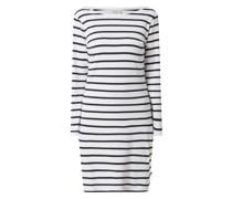 Kleid mit Streifenmuster Modell 'Didde'