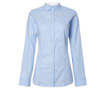 Slim Fit Bluse mit Streifenmuster