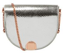 Saddle Bag aus Leder mit Kettenriemen