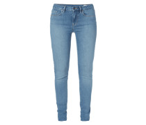 Rinsed Washed Jegging Fit Jeans