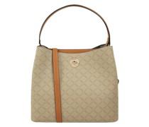 Handtasche mit Logo-Muster Modell 'Filiberta'
