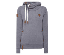 Hoodie 'DARTH' mit Kapuze in Wickeloptik