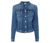 Jeansjacke mit Stretch-Anteil