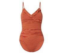 Badeanzug mit Streifenmuster Modell 'Ginga'