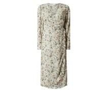 Wickelkleid mit floralem Muster Modell 'Marey'