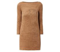 Kleid mit Nietenbesatz