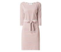 Kleid mit Streifenmuster Modell 'Nudania'