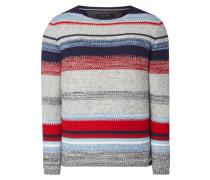 Pullover aus Baumwoll-Leinen-Mix