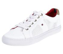 Sneaker aus Textil mit Lochmuster