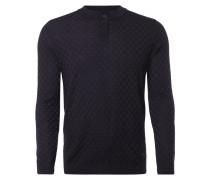 Pullover mit eingearbeitetem Karomuster