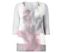PLUS SIZE - Shirt mit Ausbrenner-Effekt