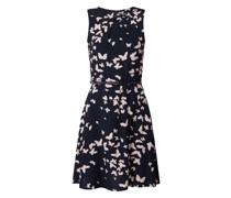 Kleid mit Schmetterling-Prints