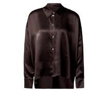 Bluse aus Seide mit Knopfleiste