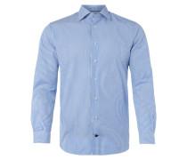 Fitted Business-Hemd mit Streifen-Dessin