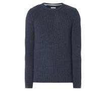 Pullover mit Kontrastvorderseite