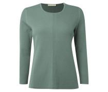 Pullover mit Muster aus Rippenstrick