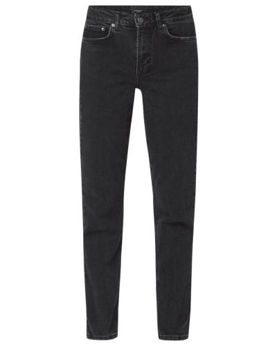 Relaxed Straight Fit Jeans aus Bio-Baumwollmischung