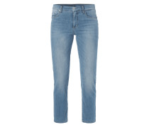 One Washed Ankle Cut Jeans