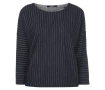 Oversized Pullover mit Streifenmuster