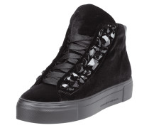 High Top Sneaker aus Samt
