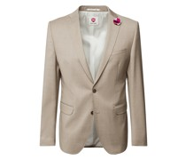 Slim Fit 2-Knopf-Sakko aus Schurwolle YOUR OWN PARTY by CG – CLUB of GENTS