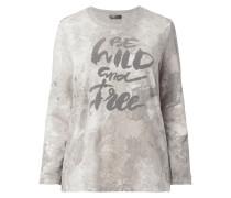 PLUS SIZE - Sweatshirt mit Message-Print