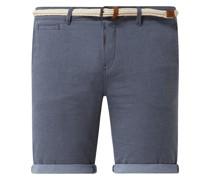 Slim Fit Chino-Shorts aus Baumwolle