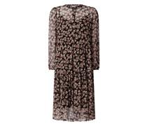 Kleid mit floralem Muster Modell 'Fleurir'