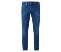 One Washed Skinny Fit Jeans mit Stretch-Anteil