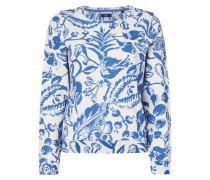 Sweatshirt mit floralem Muster