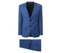 Anzug mit 2-Knopf-Sakko und Hahnentritt-Dessin