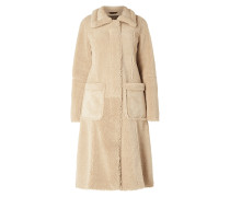 Mantel aus Teddyfutter