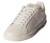 Sneaker aus Leder mit Logo-Prägung