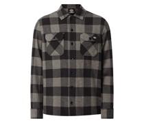 Regular Fit Freizeithemd aus Flanell Modell 'New Sacramento'