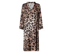 Kleid mit Leopardenmuster Modell 'Laguna'