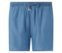PLUS SIZE Shorts aus Lyocell Modell 'Naena'