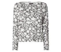 Pullover mit floralem Muster Modell 'Adalie'
