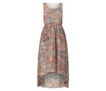 Vokuhila Kleid mit ornamentalem Muster