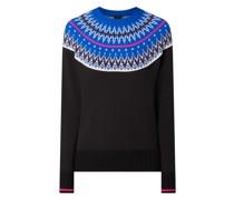 Pullover mit Norweger-Dessin Modell 'Salita'