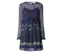 Kleid aus Chiffon mit floralem Muster Modell 'Pearl'