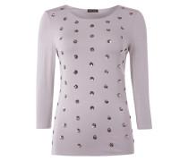 Shirt mit Punkten aus Pailletten