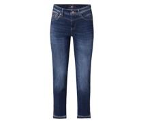 Slim Fit Jeans in 7/8-Länge Modell 'Rich Slim'