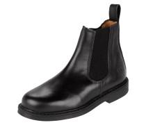 Chelsea Boots aus Leder mit elastischen Einsätzen