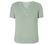 Blusenshirt mit Ethno-Muster