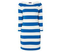 Kleid mit Blockstreifenmuster